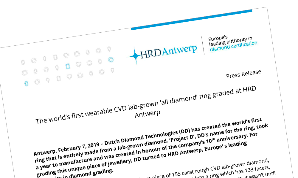 Dutch Diamond Technologies BV will be present at MRS 2017. This show will take place in November 2017 | Boston, Massachusetts | USA.